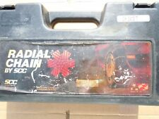 TIRE CHAINS SCC RADIAL CHAIN MUD,SNOW,ICE P205/70-15,P225/50-16 + MORE CH 2412 T