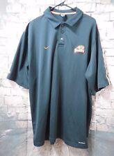 Nike Team Men's Black Polo Shirt Sleeve Oregon State Beavers 2XL XXL Orange
