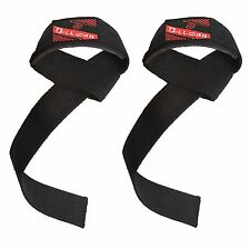NEOPRENE PADDED WEIGHT LIFTING GYM TRAINING HAND BAR STRAPS SUPPORT WRIST WRAPS