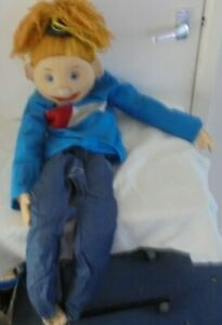 Large ventriloquist dummy Puppet Sunny & Co 43 inches