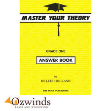 Master Your Theory Grade 1 (One) Answer Book