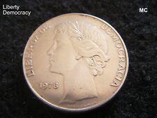 1978 25 escudos portugueses Liberty moneda en muy buenas + Grado