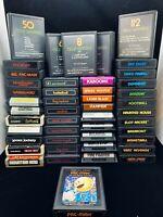 Atari 2600 Loose Cartridge Lot   Bundle Buy 2 Get 1 Free! !   Free Shipping