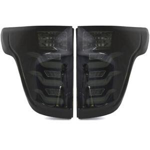 LED Taillights w/ LED Light Tube FOR 11-15 FORD Explorer - Smoke/Black/White