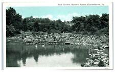 Vintage Rock Garden, Masonic Homes, Elizabethtown, Pa Postcard