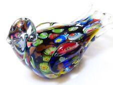 Vintage Murano Art Glass Bird Figurine