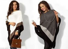 Hip Length Ponchos No Pattern None Coats & Jackets for Women