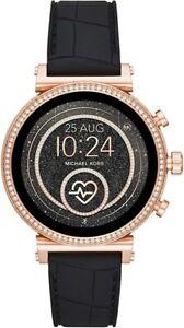 Michael Kors Access Sofie Rose Gold Heart Rate Touchscreen Smart Watch MKT5069
