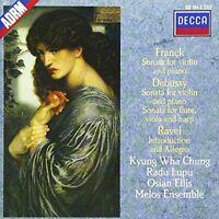 Franck - Etc:Violin Sonatas/Chung/Lupu Dm (NEW CD)