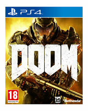 DOOM PS4 Game NEW UK PAL for Sony Playstation 4 - FAST POST 2016 english