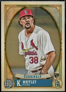 2021 Topps Gypsy Queen Base #3 Kodi Whitley - St. Louis Cardinals RC