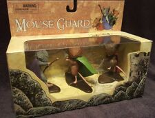 Mouse Gaurd PVC Set Figures Daimond Select Toys SIGNED by DAVID PETERSEN in BOX