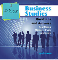 Igcse Business Studies Questions And Answers, Brand New, Free shipping