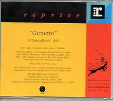 ★ MAXI CD BELLY Gepetto - PROMO USA 1-TRACK Jewel Case   ★