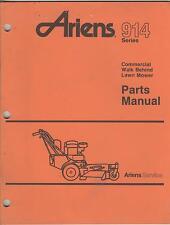 11/1991 ARIENS 914 SERIES COMMERCIAL WALK BEHIND LAWN MOWERS PARTS MANUAL (144)