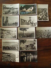 Lot 12 cartes postales ancienne Cannes Californie Plage Ile St Honorat Suquet