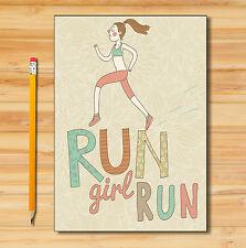 64 Page Running Log Book/Running Diary/Run/Tracker/Fitness Training Record 02