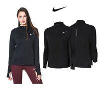 Nike Womens Full Sleeve T Shirt Running Top Sweatshirt Pacer Dri Fit Gym Shirt