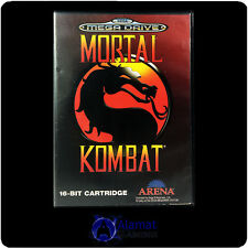 Mortal Kombat  (Mega Drive) Very Good - Fighting - Rare Retro Game