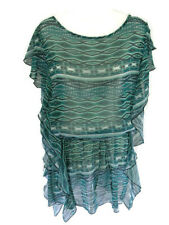 Jessica Simpson Beach Bathing Cover-Up Green Women's Size S Small Summer New