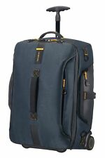 Samsonite Paradiver Light Duffle Backpack With Wheels 55 Cm 51 L Jeans Blue