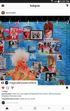 """Bobby Woods """"Gross Goddess"""" Baltimore Divine Shower Curtain John Waters Drag Gay"""