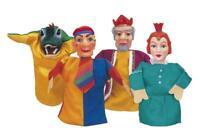 Simba Kasperle Puppen Kasperletheater Handpuppen Theater Kasperlfiguren 4er Set
