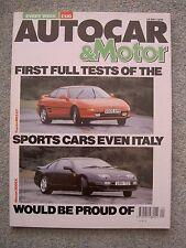 Autocar (16 May 1990) Nissan 300ZX, Toyota MR2 GT, Ferrari Dino V6,San Marino GP