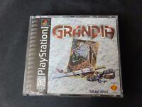 Grandia (Sony PlayStation 1, 1999) CIB