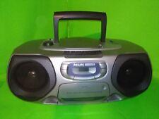 Philips Magnavox AZ1200 CD Radio Cassette Tape Player Recorder