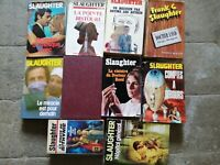 Lot 11 Books Slaughter Hospital General À La Tip The Scalpel Accounts To Reb