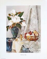 "Diane Jackson ""Tomorrow's Song"" Still-life  Magnolias  LTD ED  S/N (25/300)"