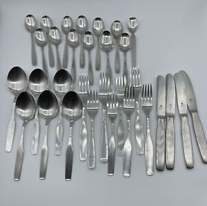 WMF Cromargan Germany Mixed Lot (31) Old Triangle Marks Fraser's Used Flatware