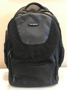 Samsonite Wheeled Computer Backpack Rolling Backpack Bag Dark Gray