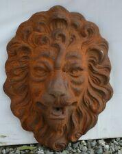 tête de lion pour bassin / fontaine en fonte