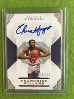ELVIN HAYES AUTO JERSEY #11 AUTOGRAPH BULLETS 2018-19 Cornerstones # /129 SIGNED