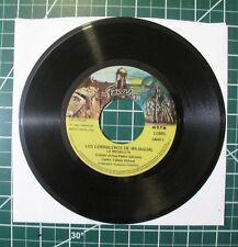 Vintage Tex Mex Jukebox 45 RPM Los Corraleros de Majagual Medal Fuentes Records