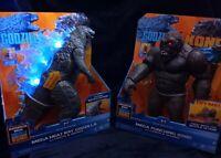 Godzilla Vs Kong Mega Heat Ray Godzilla & Mega Punching Kong With Lights & Sound