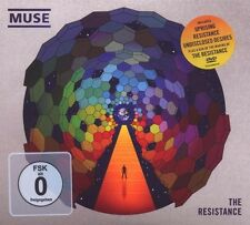 "Muse ""the resistance"" CD + DVD Limited digipack NEW"