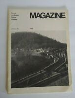 Vintage Norfolk & Western Railway Company Magazine 1972 Railroad Annual Report