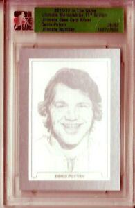 2011-12 ITG Ultimate Memorabilia #70 Denis Potvin 36/62