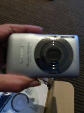 Canon PowerShot Digital ELPH SD1300 IS 12.1 MP Digital Camera - Silver