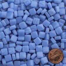 8mm Mosaic Glass Tiles - 2 Ounces About 87 Tiles - Ultra Marine Blue #1