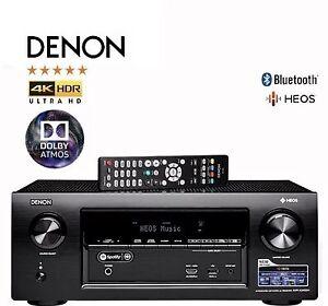 Denon AVR-X2400H 7.2ch AV Receiver - Dolby Atmos, WIFI, Spotify, Heos
