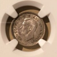 1937 Canada 10 Cents NGC MS 64 - Silver - Trends $50 (15/Oct/2019)
