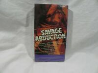 Savage Abduction Sealed VHS Rare Horror Slasher Paragon