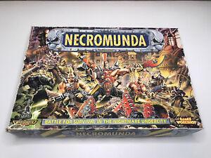 Necromunda Game Spares Terrain Source Book (Warhammer 40k/Games Workshop) 1995