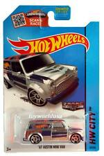 2015 Hot Wheels #27HW City HW ART Cars '67 Austin Mini Van ZAMAC