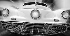 VINTAGE CAR ART PRINT - The Tucker Richard James Photograph Classic Poster 36x18