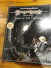 Advanced Dungeons And Dragons Dragonlance Time Of The Dragon 2nd Edition